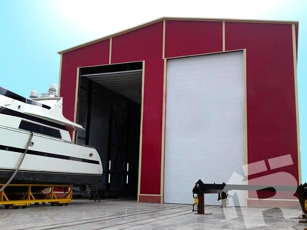 Nosto-ovet teollisuuteen ja varastoihin